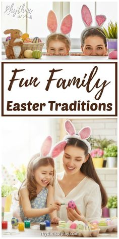 Easter Traditions to Start with Your Family! It's time to make this holiday memorable & meaningful! We've gathered several resources to help your family make the best of Easter. Traditions To Start, Easter Traditions, Holiday Traditions, Easter Bunny, Easter Eggs, Easter Card, Creative Activities For Kids, Daily Activities, Creative Kids
