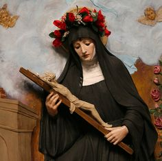 With gratitude to God and the intercession of Saint Rita of Cascia for putting my friend on the road to recovery and keeping him there.