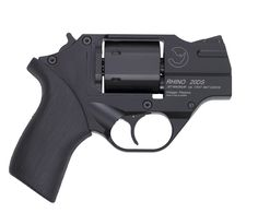 The new Chiappa Rhino has revolutionized the revolver with a patented design that tames the prehistoric characteristic that most revolvers possess. The new Chiappa Rhino barrel is aligned with 357 Magnum, Weapons Guns, Guns And Ammo, Rhino Revolver, Leather Holster, Cool Guns, Concealed Carry, T Rex, Shopping