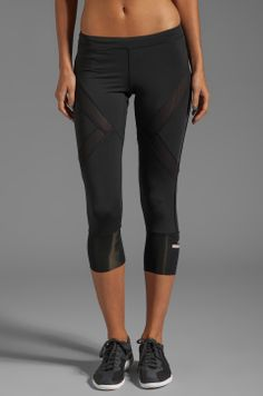 adidas by Stella McCartney 2005 3/4 Tight Legging in Black from REVOLVEclothing