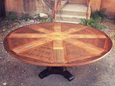 Expanding Round Table From Western Heritage Furniture Available Online. Saw  One Of These At The Habitat Restore In Wichita, KS. Fantastic!