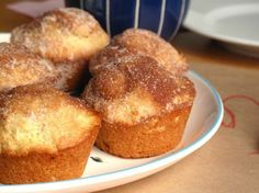 These look amazing. :) Snicker doodle muffins? I think yes.