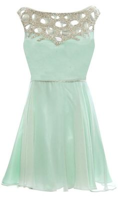 Love this mint dress!