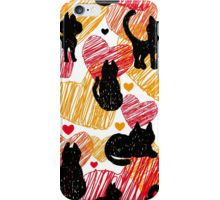 Black cats iPhone Case/Skin