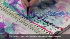 Watch and learn new art journaling techniques with this recording of the live event Art Journaling LIVE 2013! Join art journaling superstars Julie Fei-Fan Balzer, Pam Carriker, Traci Bautista, and Dina Wakley for the ultimate mixed-media experience.