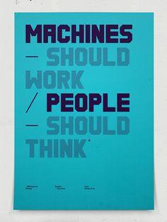 Poster / Ee — Designspiration