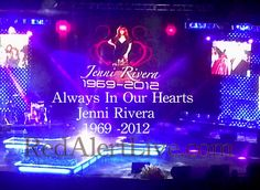 Family, Celebrities and Fans Say Good Bye To Jenni Rivera!