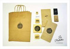 Identidad Corporativa #branding #packaging #logo #kraft #black #monocrome #sellos #bolsas #paper #bags #eventos #kits #party #birthday #weddings #baptism #babyshower #identity #corporatedesign
