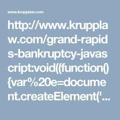 httpwwwkrupplawcomgrand rapids bankruptcy