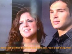 Loren Tate (Brittany Underwood) and Eddie Duran (Cody Longo) Enjoying Love Moment in Hollywood Heights.