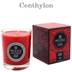 Vela perfumada de rosas y peonias. Scented candle roses and peonies.