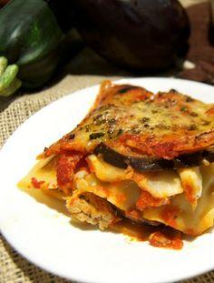 Zucchini Eggplant Lasagna | Savour the Senses