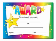 Birthday Certificate for Kids Inspirational Award Certificates 16 X A6 Cards Schools Teachers