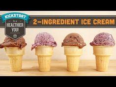 Two Ingredient No Machine Ice Cream! Mind Over Munch Kickstart Series - YouTube