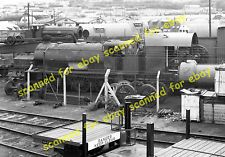 Photo - War Department tank engines at British Army Bicester sidings, 1959