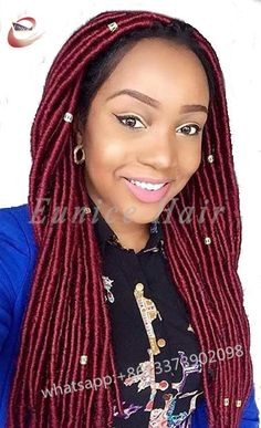 14roots/Piece Crochet Braids Straight Hair Extensions,Synthetic Solid FAUX LOCS Hair For Beautiful Black Women Free Shipping