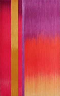 The joyous colourfield textile artworks of Ptolemy Mann
