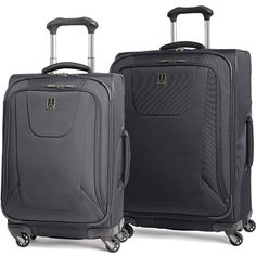 Travelpro Maxlite 3 2 Piece Luggage Set 25 and 21 Spinners Black *** Check this awesome product by going to the link at the image. Luggage Sets, Travel Luggage, Old Suitcases, Travel Accessories, 21st, Women's Fashion, Fashion Outfits, Vacation Ideas, Travelling
