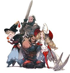 Jobmaster Characters from Bravely Default