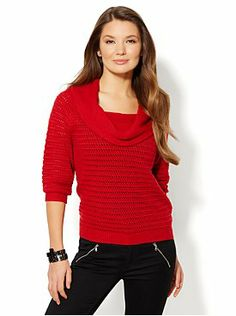 Funnel-Neck Sweater from New York & Company