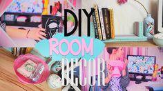 DIY: Room Decor/Декор комнаты + КОНКУРС!|Fosssaaa