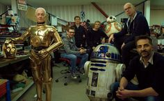Anthony Daniels, Brian Herring, and Dave Chapman in Star Wars: Episode VIII - The Last Jedi (2017)