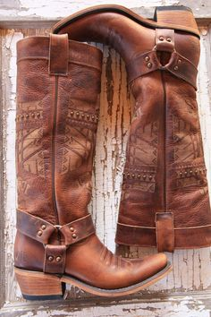 she who is brave boot // junk gypsy