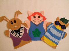 The Best Felt hand puppets online. Lisa Puppet Maker also does custom orders. Puppets make great teaching aids for school, daycare, special needs and therapy. Order your puppets today! Felt Puppets, Hand Puppets, Finger Puppets, Preschool Art Projects, Crafts For Kids, Puppets For Sale, Custom Puppets, Finger Puppet Patterns, Exercise For Kids