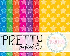 Over 100 Pretty Papers {For Commercial and Personal Use}. Click to see all digital paper designs!
