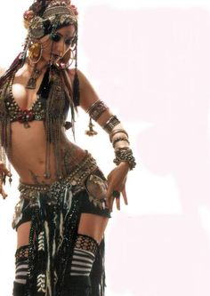 Tribal fusion belly dance.