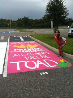 Senior Parking Spot