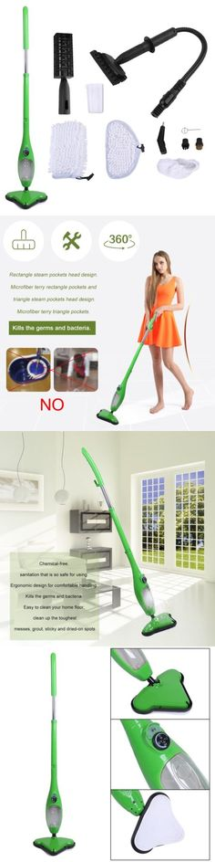 Sweeping Carpet with A Broom