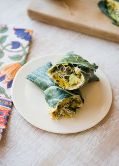 Collard Hummus Wraps Recipe from Inspiralized