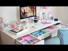 DIY Makeup Drawer Organizers - YouTube