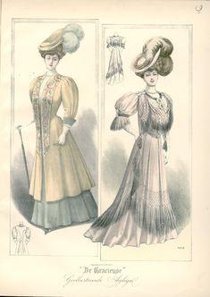[De Gracieuse] Wandeltoiletten (May 1907)