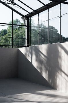 HASA Architects converts derelict glasshouses into events space in Highgate London