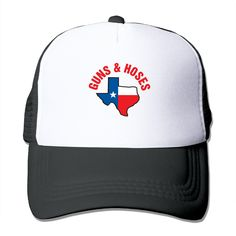 """Adult Guns And Hoses The Adjustable Snapback Cap. 100% Nylon Mesh Back Keeps You Cool. 100% Polyester Foam Front. Hand Washing Only. Adjustable From 17"""" To 24"""". Customized Pattern Design,Perfect As A Gift,High Quality And Environmentally Friendly Printed."""