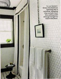 l Wallpaper Ideas Bad Inspiration, Bathroom Inspiration, Bathroom Ideas, Bathroom Designs, Bathroom Colors, White Bathroom, Modern Bathroom, White Shower, Small Bathroom
