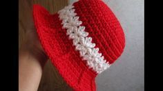 Crochet Baby Girl Hat Part 1 of 3 - YouTube