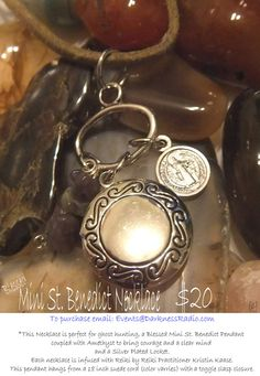 Mini St Benedict Medal coupled with by ParanormalProtection, $20.00