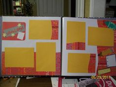 scrapbook pages 12 X 12