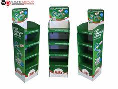 Floor stand,cardboard display for FAIRY