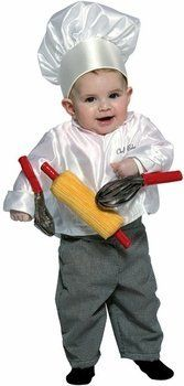 Infant Chef Costume (Size: Infant 12-24 Months) FUF. $26.99