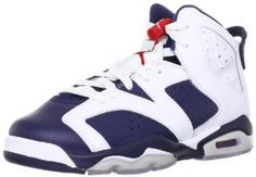 best website cfcce c9c8a Youth Nike Air Jordan 6 Retro (GS) Olympic Edition White   Midnight Navy    Varsity Red 384665-130 Size 7  airjordan  jordan  sneakerwatch  sneakernews   swag