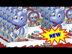 """Unboxing of 32 pieces of Kinder Surprise Egg. I am unboxing 32 40 years Anniversary Kinder Surprise Eggs """"Funny Versary"""" and """"Disney Fairies"""" Happy Birthday . Surprise Birthday, Disney Toys, Smurfs, Sonic The Hedgehog, Eggs, Funny, Party, Fictional Characters, Travel Destinations"""