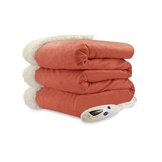 Shop for Pure Warmth by Biddeford Micro Mink Sherpa Heated Throw Blanket in Spice. Get free delivery On EVERYTHING* Overstock - Your Online Fashion Bedding Store! Heated Throw Blanket, Oversized Throw Blanket, Faux Fur Throw, Cotton Blankets, Most Comfortable Sheets, Luxury Throws, Clean Microfiber