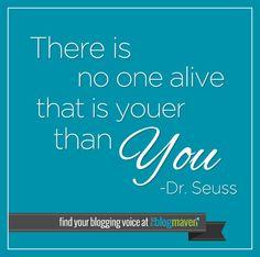 Find your blogging voice   The Blog Maven