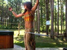 Sickedelic Spin - Some crazy cool hooping!
