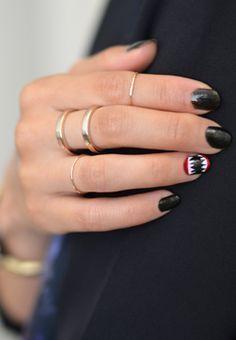 cute teeth nails - http://yournailart.com/cute-teeth-nails-2/ - #nails #nail_art #nail_design #nail_polish