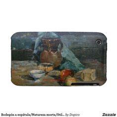 Bodegón a espátula/Natureza morta/Still life Case-Mate iPhone 3 Protectores